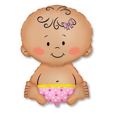 Шар фигура Малыш девочка 1207-1963