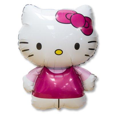 Шар фигура Hello Kitty розовая 1207-1999