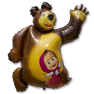 Шар фигура Маша и Медведь 1207-2041