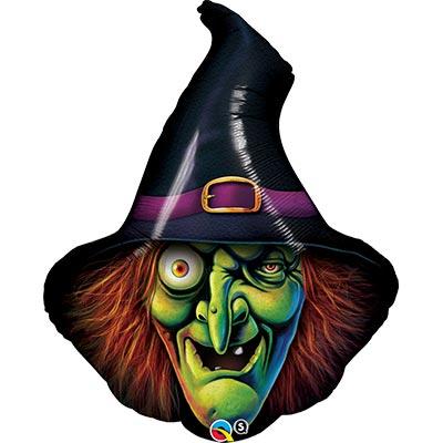 Шар фигура Ведьма, голова 1207-2046