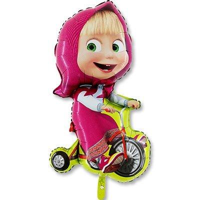 Шар фигура Маша на велосипеде 1207-2157