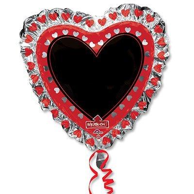 Шар фигура Сердце с маркером 1207-2195