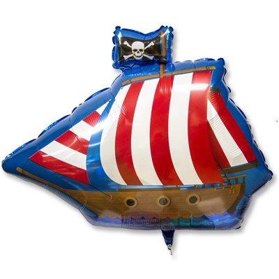 Шар фигура Пиратский фрегат 1207-2464