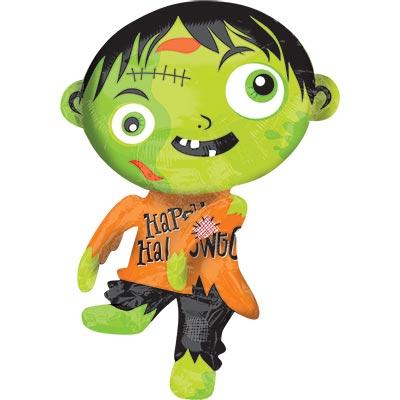 Шар фигура HWN Зомби зеленый 1207-2705