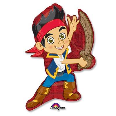 Шар фигура Пират Джейк с саблей 1207-2722