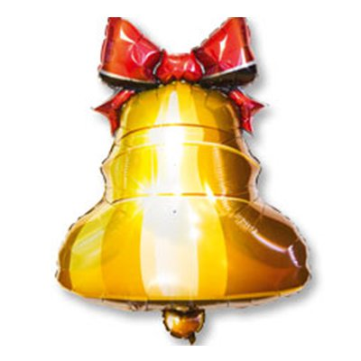 Колокольчик фольгированный шар 1207-2733
