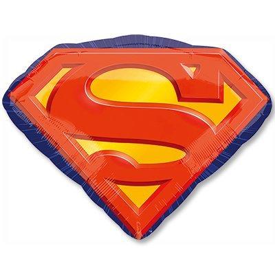 Шар фигура Супермен эмблема 1207-2764