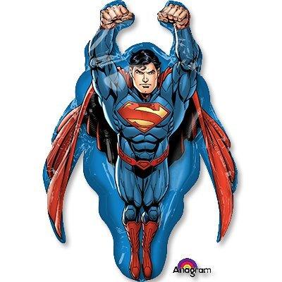 Шар фигура Супермен летящий 1207-2900