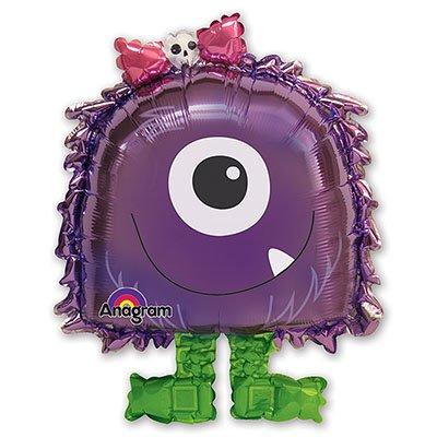 Ходячий шар Фиолетовый монстр, ненадутый 1208-0280