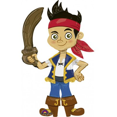 Шар ходячий Джейк пират, ненадутый 1208-0337