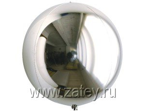 "С 3D СФЕРА Б/РИС 7"" Металлик Silver 1209-0012"
