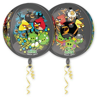 "Шар 3D СФЕРА 16"" Angry Birds 1209-0082"