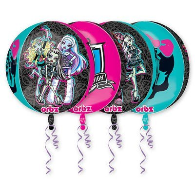 "Шар 3D СФЕРА 16"" Monster High 1209-0092"