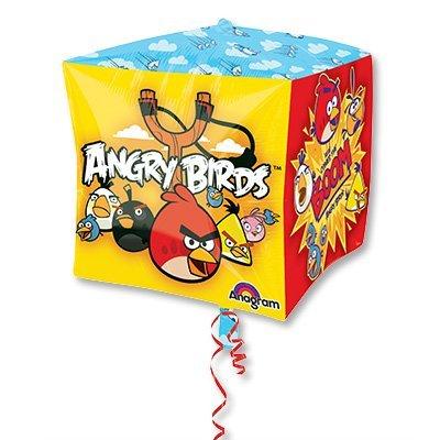 "Шар 3D КУБ 15"" Angry Birds 1209-0115"