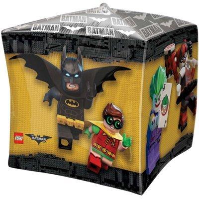 "Шар 3D КУБ 15"" Лего Бэтмен 1209-0192"
