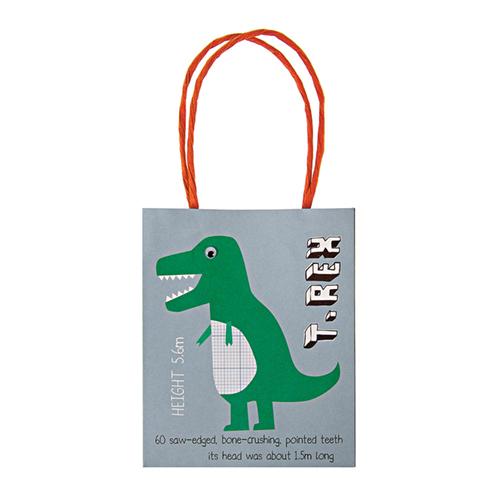 """Пакеты для подарков гостям """"Динозавр"""" 124444"""