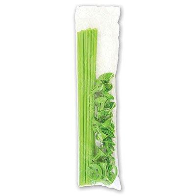 Комплект Палочка+Розетка Зеленые, 25шт 1302-0466