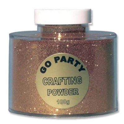 Блестки порошок для декора золото 100г 1302-0572