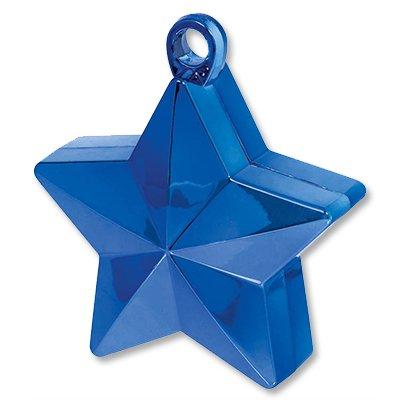Грузик д/шара Звезда синяя 170гр/A 1302-0655
