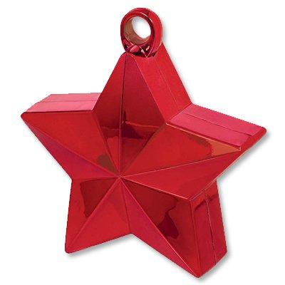 Грузик для шара Звезда красная 170 гр 1302-0660