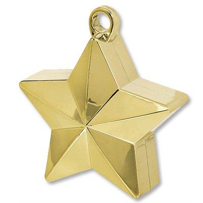 Грузик для шара Звезда золотая, 170 гр 1302-0662