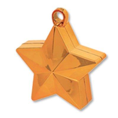 Грузик для шара Звезда оранжевая 170 гр 1302-0713