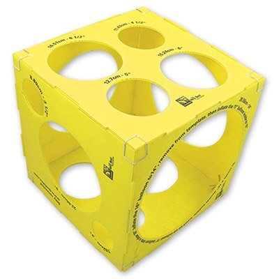 Калибратор - куб для шаров 1307-0006