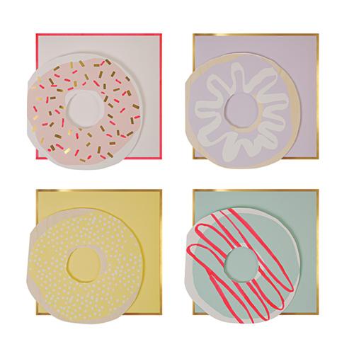 """Листки для заметок """"Пончик"""", 12 шт."""