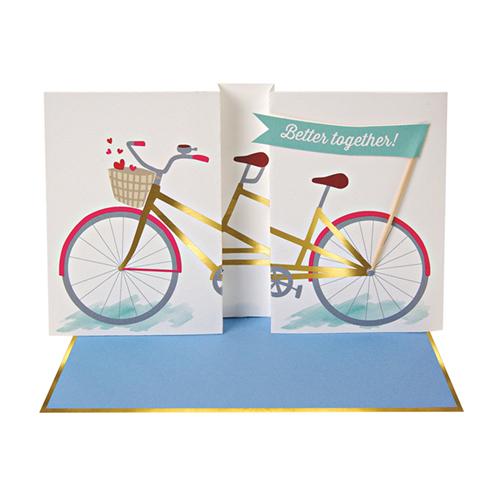 """Открытка """"Велосипед"""" 132733"""