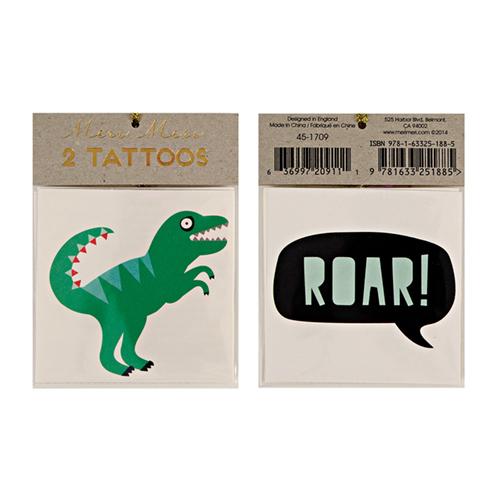 """Переводные татуировки """"Динозавр"""" 133336"""