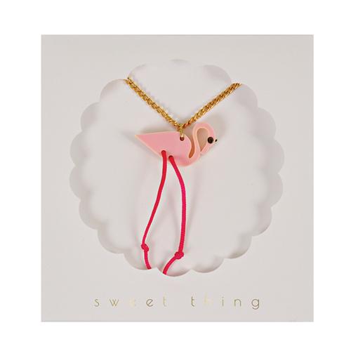 """Колье """"Фламинго"""" 134560"""
