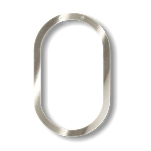 """Акриловая подвеска для растяжки """"Ноль"""", серебро 135577"""
