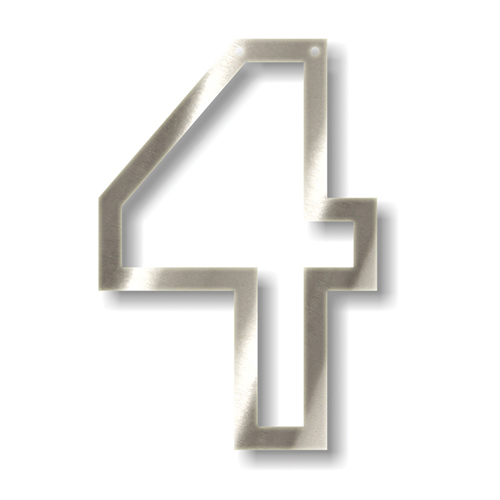 Акриловая подвеска для растяжки 4, серебро