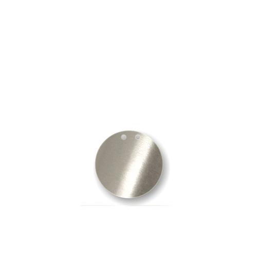 """Акриловая подвеска для растяжки """"Точка"""", серебро 135883"""