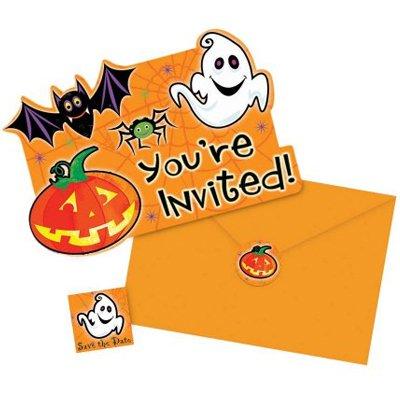 Приглашения Забавный Хэллоуин, 20 штук 1403-0134