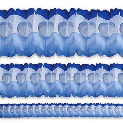 Гирлянда Декор 3,6м сине-бело-голубая 1404-0361