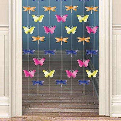 Украшение на дверь Бабочки 1407-0041