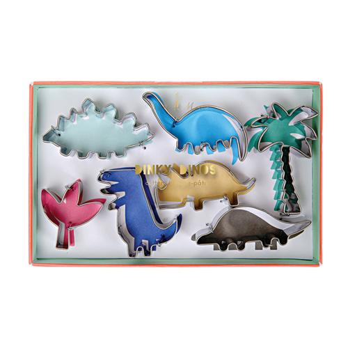 """Формочки для печенья """"Динозавры"""", 7 шт 147052"""