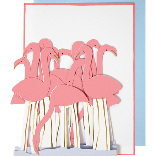 "Открытка ""Фламинго"" 147151"