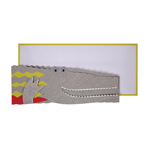 """Открытка поздравительная """"Крокодил"""" 147169"""