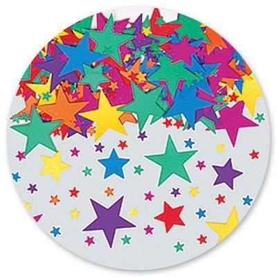 Конфетти Звезды ассорти 14гр 1501-0191
