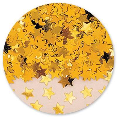 Конфетти Звезды золотые 14гр 1501-0192