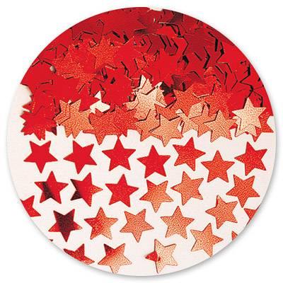 Конфетти Звезды красные 14гр/A 1501-0193