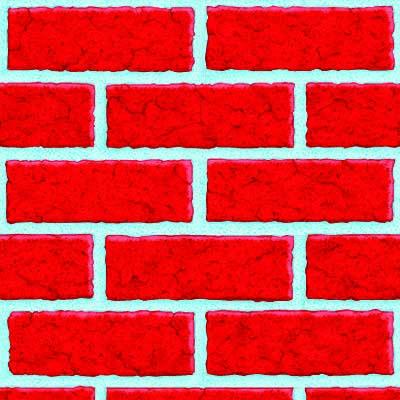 Декорация на стену Кирпич 1,2мх15,2м 1501-0464