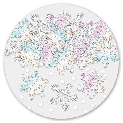 Конфетти Снежинки перл 14гр 1501-0472
