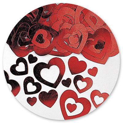 Конфетти Сердца двойные 14гр 1501-0561