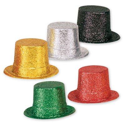 Шляпа пластик блеск ассорти 12,7см 1501-0750