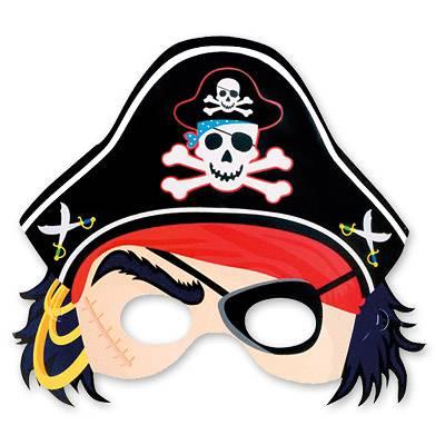 Маски пиратов, 8 шт. 1501-1138