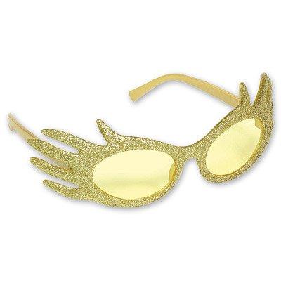 Очки Привидение, блеск золото 1501-1315
