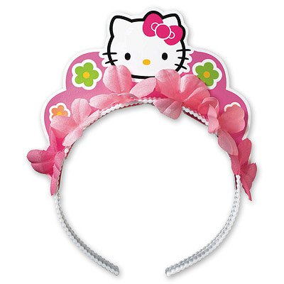Ободок Hello Kitty Цветы 1501-1395